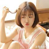 假髮女中長髮全頭套式圓臉大波浪氣質修臉網紅可愛短髮髮型 yu418【欧爸生活馆】