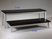 展藝 Zhanyi ZY-963 高質感黑金石音響架/電視桌.展示桌.免運