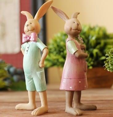 [協貿國際]可愛兔子裝飾品單組價(2隻1組)