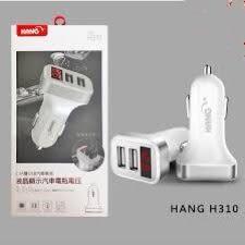 HANG H312 3孔輸出USB車充頭 3USB輸出 支援2.1A 快速充電 車用充電器 快速車充 USB充電頭