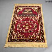 禮拜毯回族朝拜地毯穆斯林清真寺拜墊伊斯蘭朝覲祈禱拜氈用品【居享優品】