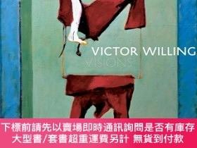 二手書博民逛書店罕見原版 維克多·威靈Victor Willing: Visions幻象 原版進口畫冊畫集圖書Y393700