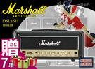 【小麥老師 樂器館】免運 Marshall DSL15H 電吉他音箱 15瓦真空管 音箱頭 一年保 [DSL-15H]