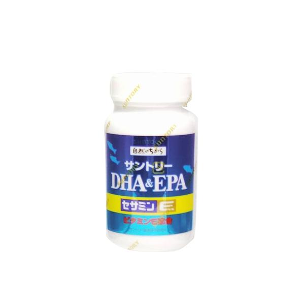 SUNTORY三得利 魚油 DHA&EPA+芝麻明E【RH shop】
