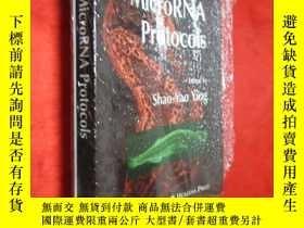 二手書博民逛書店Microrna罕見Protocols (小16開) 【詳見圖】