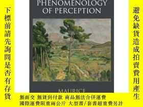 二手書博民逛書店感知現象學罕見Phenomenology of Perception 英文原版 莫裏斯梅洛龐蒂 MauriceMe