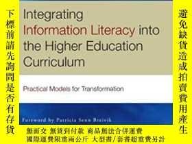 二手書博民逛書店Integrating罕見Information Literacy In The Higher Education