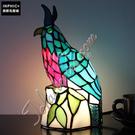 INPHIC-裝飾霸氣老鷹小夜燈造型燈造型夜燈創意手工彩色玻璃孩子檯燈_S2626C