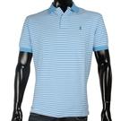 POLO RALPH LAUREN經典橫條紋POLO衫(天藍色)780350-11