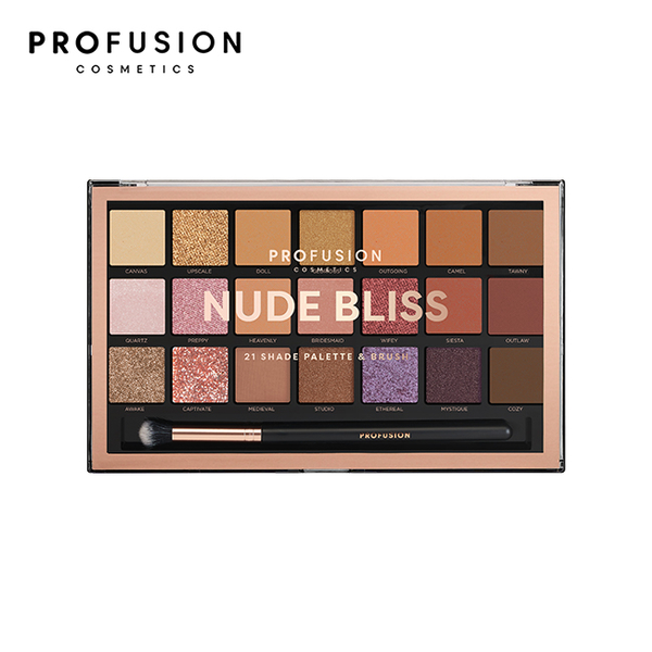 PROFUSION 21色眼影盤-煙燻裸粉 33.6g
