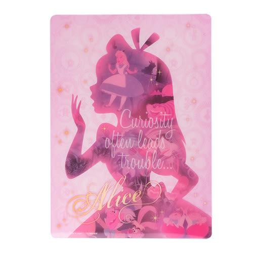 《sun-star》迪士尼公主夢想剪影系列墊板(愛麗絲粉)★funbox生活用品★_UA48941