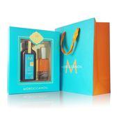 Moroccan Oil 摩洛哥優油禮盒(摩洛哥優油100ml+輕盈身體護膚油50ml)(均附壓頭)附精美提袋【UR8D】