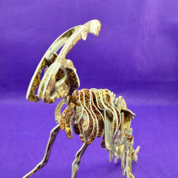 佳廷模型 親子DIY紙模型3D立體拼圖贈品獎勵品專賣店 昆蟲館動物園 侏羅紀恐龍巨爪龍化石 卡樂保