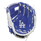 【LAKEIN運動網】║Wilson║洛杉磯道奇款兒童手套
