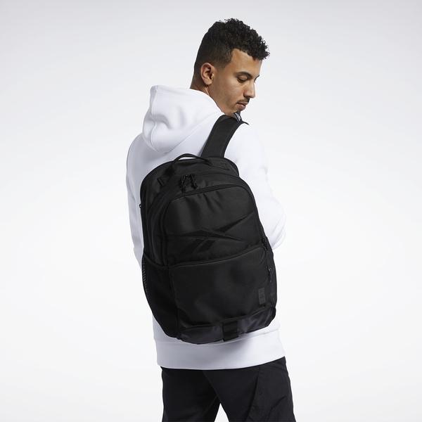 IMPACT Reebok Active Enhanced Backpack Large 黑 後背包 背包 FR5562