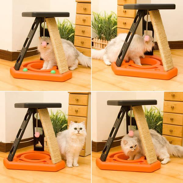 5合1貓咪玩樂運動場