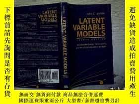 二手書博民逛書店LATENT罕見VARIABLE MODELSY203004
