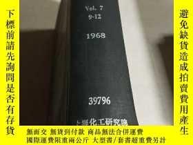 二手書博民逛書店APPLIED罕見OPTICS Vol.7.9-12.1968(