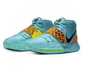 NIKE系列-男款藍色虎紋籃球鞋-NO.BQ4631300