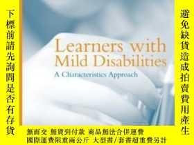 二手書博民逛書店Learners罕見With Mild Disabilities: A Characteristics Appro