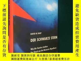 二手書博民逛書店Der罕見Schwarze Stern:Wie die Saur