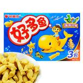韓國 好麗友 好多魚餅乾 (海苔口味) 90g 三包/盒 (進口/團購/零嘴/餅乾)◆86小舖 ◆