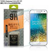 NISDA Samsung GALAXY E5 鋼化 9H 0.33mm玻璃螢幕貼
