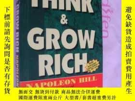 二手書博民逛書店THINK罕見& GROW RICH (This book co