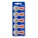 【鼎立資訊】muRata村田 鈕扣型 鋰電池 CR2032 (5顆入) 3V