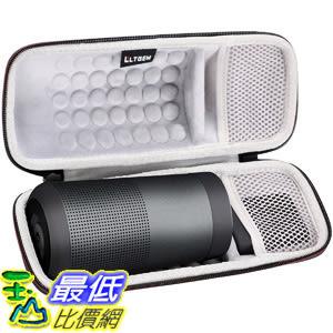 [8美國直購] LTGEM Case for Bose SoundLink Revolve Bluetooth Speaker with Mesh Pocket-Black