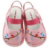 【愛的世界】花與小鳥寶寶鞋/學步鞋-台灣製- ★鞋款推薦