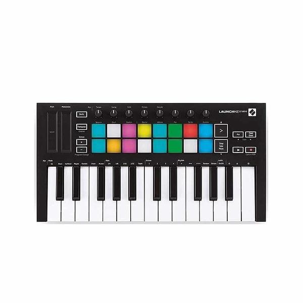 Novation 音樂控制器 Launchkey Mini [MK3] 25-Mini-Key MIDI Keyboard [2美國直購]