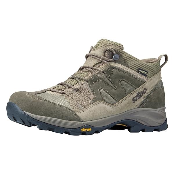 [好也戶外]SIRIO Gore-Tex中筒登山健行鞋(3E+寬楦) 男款-棕 NO.PF156BE