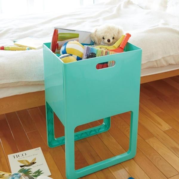 尺寸超過45公分請下宅配日本進口家用可折疊收納箱衣物雜志整理箱