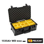 黑熊館 美國 派力肯 PELICAN 1535Air WD 超輕 氣密箱 含輪座 隔板組 Air 防撞 防水 拉桿箱