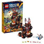 樂高積木樂高未來騎士團系列70321魔炎上將的末日攻城車LEGO積木玩具xw