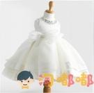 兒童公主裙蓬蓬裙寶寶周歲晚禮服女童演出服婚紗裙洋裝【淘嘟嘟】