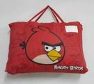 【貝淇小舖】 ~2013 台灣精製 【ANGRY BIRDS】紅色 標準兒童睡袋~加大款
