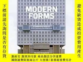 二手書博民逛書店[PRESTEL出版]Modern罕見Forms 現代形式:20世紀建築的主觀地圖集 英文原版建築設計Y