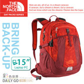 The North Face後背包包大容量15吋筆電包北臉CE81-ADW