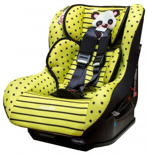[ 家事達 ] 法國納尼亞NANIA- 0-4歲安全汽座 -熊貓綠 特價
