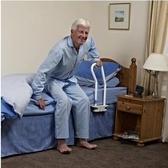 【不銹鋼-白色 帶加強腳】【床邊護欄床上扶手床欄杆起身板】LJ-818461