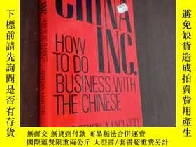 二手書博民逛書店China罕見Inc. How To Do Business With The ChineseY12880 R