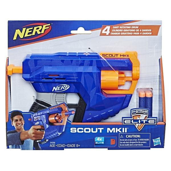 NERF樂活射擊遊戲 N-Strike elite菁英系列 偵察 MK-Ⅱscout mk2 TOYeGO 玩具e哥