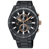 SEIKO 精工 太陽能 V176-0AV0X(SSC655P1)Criteria 三眼計時 男錶