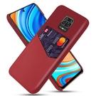布紋單插卡 紅米note9 Pro 手機殼 小米9T 小米8 pro lite 保護套 紅米NOTE6 pro 皮紋拼接 防摔 皮革 手機套