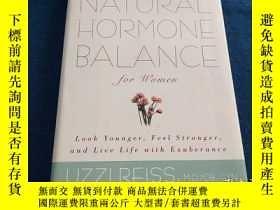 二手書博民逛書店NATURAL罕見HORMONE BALANCE for women 自然激素平衡Y223356 出版2