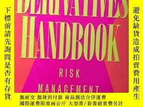 二手書博民逛書店Derivatives罕見Handbook: Risk Mana