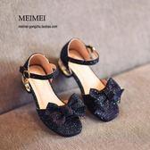 618好康鉅惠女童涼鞋夏季新款韓版時尚小高跟公主鞋