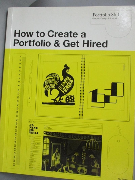 【書寶二手書T6/設計_XGI】How to Create a Portfolio and Get Hired: A G